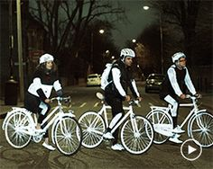 volvo car UK puts the spotlight on cyclist safety with lifepaint reflective spray