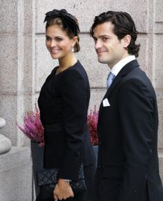 Princess Madeleine and Prince Carl Philip ,September 15, 2011