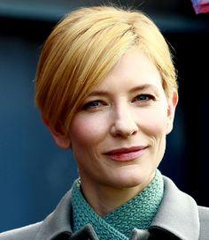Robin Wright Pixie Haircut | Cate Blanchett trägt eine lange Variante der Kurzhaarfrisur