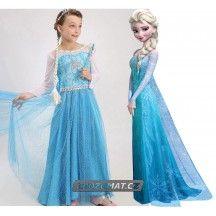 Dětský kostým šaty Elsa