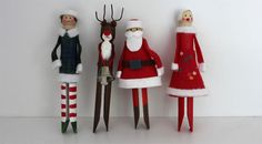 I have not had the time to feel very festive this year, but I just published a Christmas craft article about Babiekins and the ideas begin … Pinner Birgit Hesler Quelle birgithesler Bildgröße 170 x 93 Boardname Weihnachtszeit Ansichten 2 Christmas Ornaments To Make, Noel Christmas, Craft Stick Crafts, Christmas Projects, Handmade Christmas, Holiday Crafts, Christmas Place, Wood Peg Dolls, Clothespin Dolls