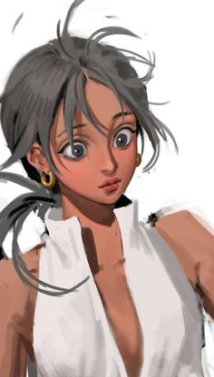 Digital Painting Tutorials, Digital Art Tutorial, Art Tutorials, Pretty Art, Cute Art, Character Illustration, Illustration Art, Art Sketches, Art Drawings