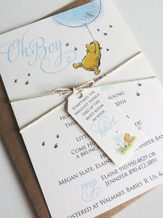 Hey, I found this really awesome Etsy listing at https://www.etsy.com/listing/178520734/winnie-the-pooh-inspired-party-invite