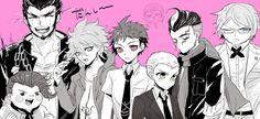 Teruteru | Nekomaru | Komaeda | Hajime | Fuyuhiko | Gundham | Twogami