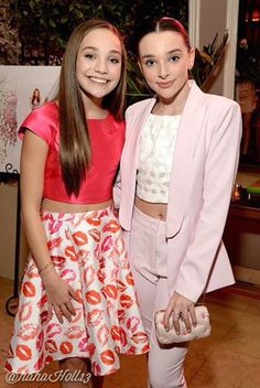 Added by #hahah0ll13 Dance Moms Maddie and Kendall