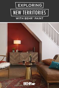 There's still time to refresh your home before the holiday entertaining season. Just start with a new coat of BEHR® Paint. Click below for easy tips on how you can reimagine the forgotten areas of your house like your attic, laundry room, or the nook underneath your staircase.