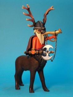 Cervibus-Nordic god-guardian of the animals