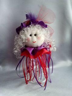 Red Hat Society Doll