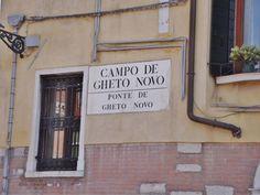 Campo de Gheto Novo #Venecia
