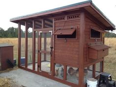 The Palace Chicken Coop: Free Chicken Coop Plan ~ https://steamykitchen.com