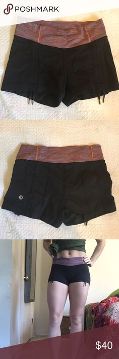 ✨SALE ✨Lululemon boogie shorts with drawstrings. Lululemon. Like boogie shorts with drawstrings. Luxtreme. Size 4. Lightly worn. lululemon athletica Shorts