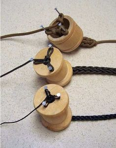 Going Up? : If you have enough cordage, you can create larger-diameter rope by braiding paracord, either by hand, or by using a simple braiding jig, like these examples. Since paracord has a weight limit of 550 pounds,the resulting ropes will have a weight limit of 550 times the number of cordage strands in each type of braid. From http://www.scribd.com/doc/87588319/A-Long-Term-Survival-Guide-101-Uses-for-Paracord