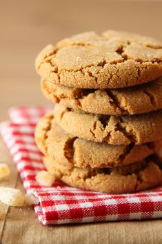Chewy Ginger Cookies - Life Made Simple