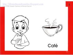 LIBRAS: Educandos Surdos: Sinais dos Alimentos Sign Language Book, Snoopy, Manga, Comics, Fictional Characters, Lds, Signwriting, Alphabet, Special Needs Teaching