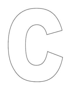 Impeccable image regarding letter c printable