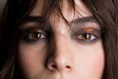 18 Dreamy Beauty Close-Up Shots From New York Fashion Week - I love love love Tadashi Shoji Fall 2016, Jill Stuart Fall 2016 and OMFG hats off to Giulietta's Fall 2016 for bringing back emo cry-liner in silver!!