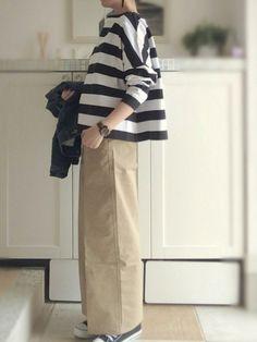 Coco's Loft: The baggy pants pursuit. Coco's Loft: The baggy pants pursuit. Japan Fashion, Look Fashion, Daily Fashion, Hijab Fashion, Korean Fashion, Girl Fashion, Fashion Outfits, Womens Fashion, Street Fashion