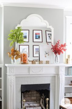 Fall Home Tour via @inspiredbycharm