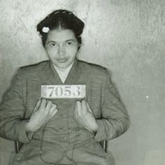 CIVIL RIGHTS MUGSHOTS