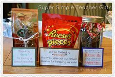 Simple Thank You Gift | Simple Thank You Gifts For Teachers