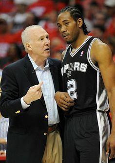 Kawhi Leonard | Popovich was then asked about his youngster's performance through ...