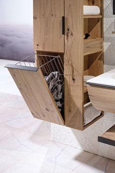 V-Quell von Voglauer  Badezimmer in Alteiche rustiko #Schrank #Streichen #Badezimmer #Diy #Alter #Ordnung #ideen