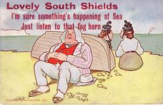 funny vintage postcards | Funny Postcard, South Shields