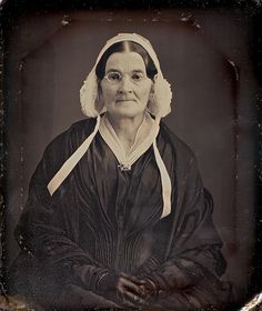 Widow with Mourning Brooch and Spectacles, 6th-Plate Daguerreotype, Circa 1845 | Flickr - Photo Sharing!