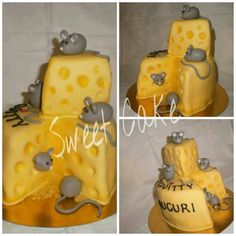 cake...cheese and mouse