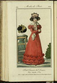 Petit Courrier des Dames : annonces des modes, des nouveautés et des arts del 20 de Octubre de 1822