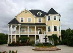 I love a wraparound porch!
