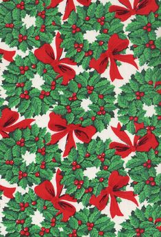 Wall Paper Vintage Christmas Wrapping Papers Ideas For 2019 Christmas Style, Noel Christmas, Retro Christmas, Christmas Images, Christmas Greetings, Christmas Decor, Vintage Christmas Wrapping Paper, Christmas Gift Wrapping, Wrapping Papers