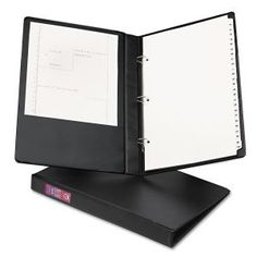 """Avery Heavy Duty 3-Ring Legal Binder - Legal Size - 1"""" Round Ring - 175 Sheet Capacity - Black"""