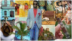 #FashionSnoops #denimtrends on #WeConnectFashion. SS17 Men's story: New Havana