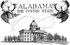 Alabama - Nickname(s): Yellowhammer State, Heart of Dixie, Cotton State. Union Admission to Union December 14, 1819 (22nd).