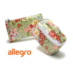 Aliexpress.com : Buy H1520 AA Floral Zipper Cosmetic Bag Make up case Purse organizer storage bag 2 pieces/set Free shipping dropshipping M13 from Reliable cosmetic bag suppliers on TTM  $7.00