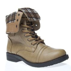 V-Luxury Womens 40-TAMMY12 Closed Toe Military Ankle Boot Shoes -- Learn more by visiting the image link.