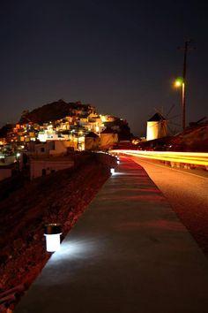 Serifos by night, Cyclades, Greece Corsica, Rome Italy, Santorini, Morocco, Belgium, Greece, Travel Photography, Beautiful Places, Scenery