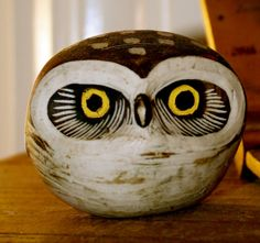 Owl  by Edvard Lindahl for Gustavsberg Sweden