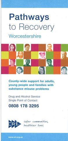 http://www.cri.org.uk/worcs.php offers support for adults, young people and families with alcohol and substance misuse problems.
