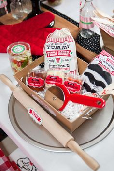 Little Chef Pizza Birthday Party! The Pizza Kits