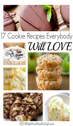 This collection of cookies are sure to please. Easy and recipes that include all your favorite flavors from chocolate to peanut butter and some more sophisticated flavors too! Try them all!
