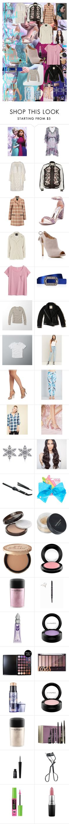"""""""Elsa Braid & Makeup Tutorial with Modern Ice Queen Outfit Ideas"""" by oroartye-1 on Polyvore featuring beauty, Miss Bikini, LAURENCE BRAS, River Island, Tory Burch, Steve Madden, Dorothy Perkins, MICHAEL Michael Kors, H&M and Roger Vivier"""