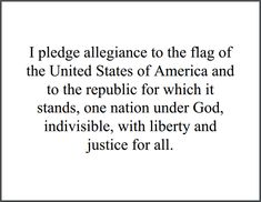 Under god in the pledge essay
