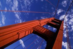 7-470-3 stock photo of California, San Francisco Bay, Golden Gate Bridge