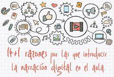 14+1 razones para introducir la narración digital en el aula | Nuevas tecnologías aplicadas a la educación | Educa con TIC