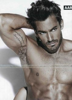 Aaron Diaz...don't know who he is but DAMN!