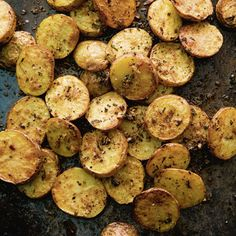 Gebackene Blechkartoffeln