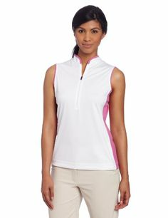 Callaway Women's Sleeveless Mandarin Collar Top, Bright White, Medium Callaway,http://www.amazon.com/dp/B00CEFEC3U/ref=cm_sw_r_pi_dp_0Ekjtb005X017RSG
