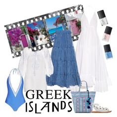 """""""2016 Greek Islands"""" by vaughnroyal ❤ liked on Polyvore featuring Loup Charmant, Mes Demoiselles... and Juliet Dunn"""